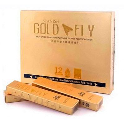 Женский возбудитель Spanish Gold Fly (12 шт.) в каплях.