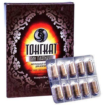 Биодобавка Тонгкат Али Платинум (10 капс.) для повышения потенции.