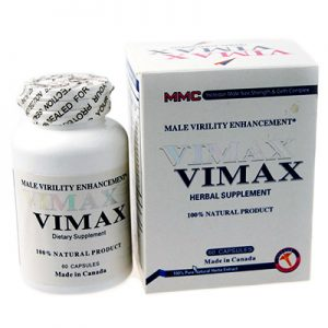 Биодобавка Vimax (60 капс.) для повышения потенции.