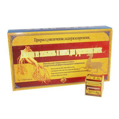 Китайские пилюли из Женьшень (18 шт.) для повышения потенции.